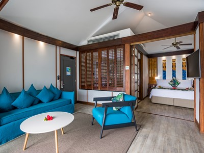 Overwater Premium Junior Suite Bungalow de l'Intercontinental Moorea