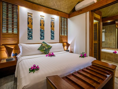 Beach Junior Suite Bungalow de l'Intercontinental Moorea Resort & Spa