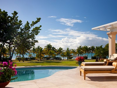 Pool Suite de l'hôtel Jumby Bay Island à Antigua