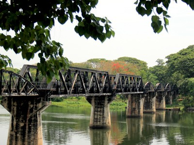 Kanchanaburi et la rivière kwaï