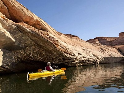Kayak sur le Lac Powell & Antelope Canyon (tour guidé)
