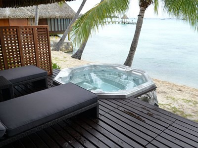 Beach Duplex Bungalow with Jacuzzi®