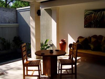 Le salon de la 1 Bedroom Pool Villa