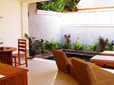 La  Villa Hijau de l'hôtel Ko Ko Mo, en Indonésie
