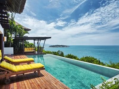 Villas avec piscine privée à Koh Samui