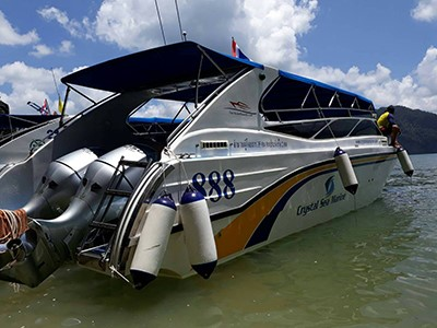 Koh Tao et Koh Nang Yuan en speedboat