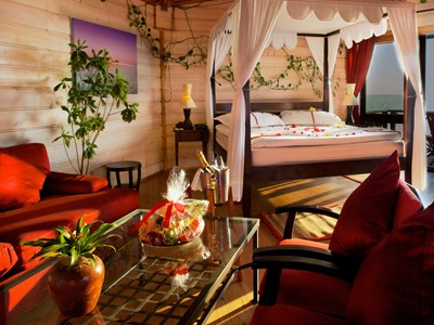 Sangu Water Villa Honeymoon Suite