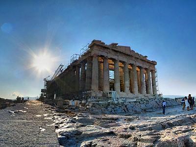 Visite privée de l'Acropole et de la Plaka à pied en compagnie d'un guide francophone