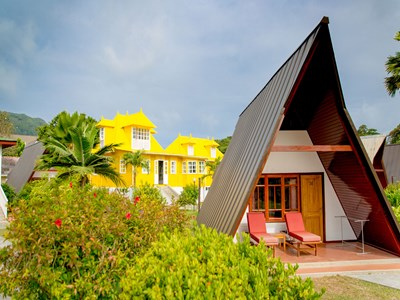 Yellow House de La Digue Lodge