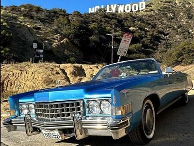 L.A en vieille voiture américaine