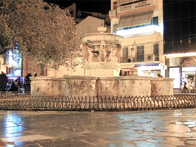 La fontaine Morosini
