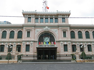 La Poste centrale de Saigon