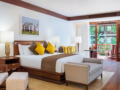 Pool Side Junior Suite du Belmond La Résidence d'Angkor
