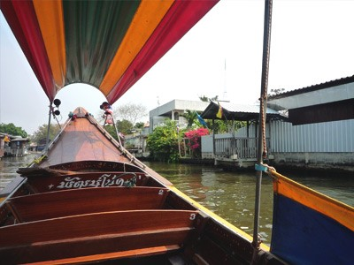 Balade le long des Klongs de Thonburi
