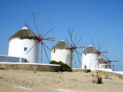 Les moulins à vent de Mykonos