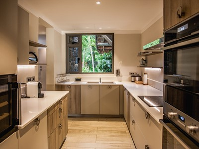 La cuisine de la Paradis Villa