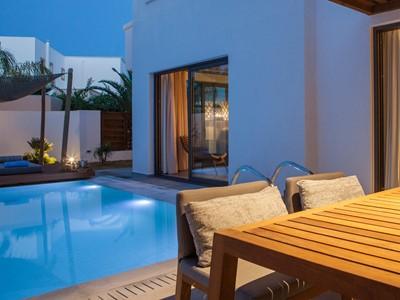 Bohemian Pool Suite du Lindian Village en Grèce