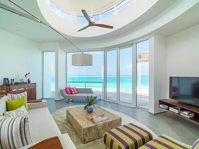 Villa Pilotis Prestige de l'hôtel LUX* North Malé