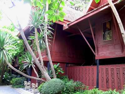 Visite de la maison de Jim Thompson