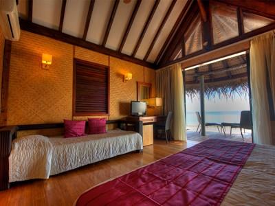 Bungalow Lagon de l'hôtel Maitai Rangiroa