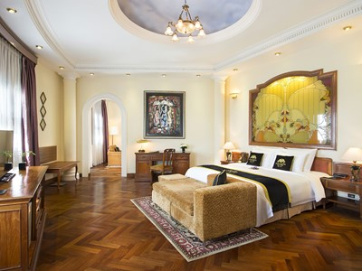 Colonial Majestic Suite du Majestic Saigon au Vietnam