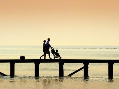 Vacances en famille aux Maldives