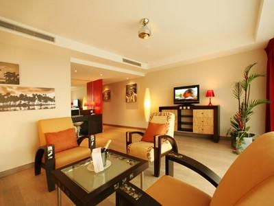 Lagoon Appartment de l'hôtel Manava Suite Resort