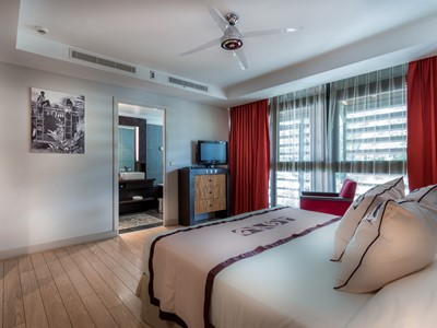 Standard Room du Manava Suite Resort à Tahiti
