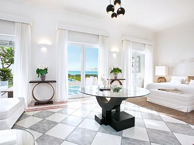 Marble Villa de l'hôtel Mandola Rosa en Grèce