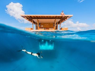 Chambre sous-marine exceptionnelle