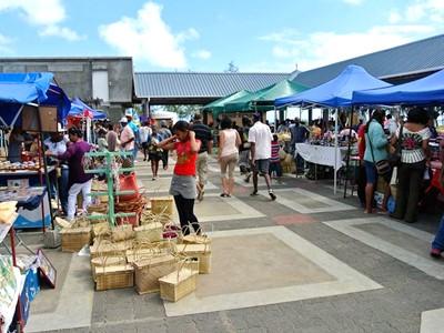 Marché de Port Mathurin