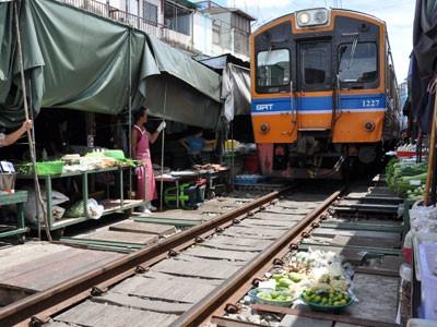 Les plus beaux Marchés du Sud de Bangkok