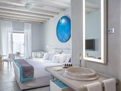 Chambre Double du Mykonos Ammos en Grèce