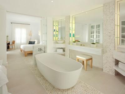 Chambre Supérieure Vue Mer de l'hôtel Mykonos Grand