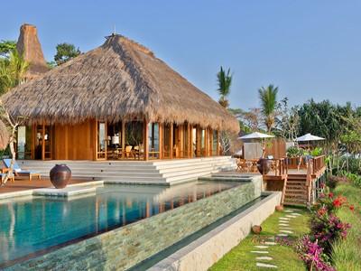 Mendaka Villa de l'hôtel Nihi Sumba en Indonésie