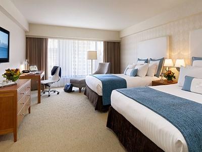 Deluxe Room du Nikko Hotel à San Francisco