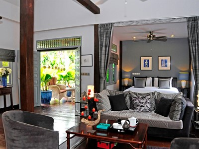 Aperçu d'une chambre du PadiVilla Resort & Spa