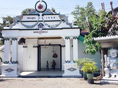 Palais du Sultan à Yogyakarta