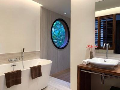 La salle de bain du Lodge