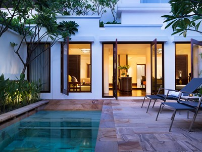2 Bedroom Pool Suite de l'hôtel Park Hyatt à Siem Reap