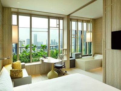 Deluxe Room du PARKROYAL on Pickering à Singapour