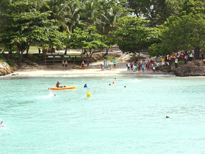Plage d'Anse Tabarin