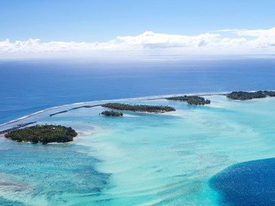 Combiné d'îles en Polynésie