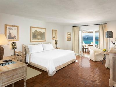 Deluxe Suite de l'hôtel Romazzino en Sardaigne