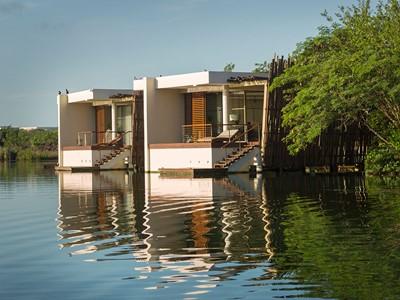 Deluxe Overwater Lagoon Suite du Rosewood Mayakoba