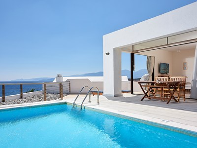 Executive Suite Classic One Bedroom Private Pool Sea View