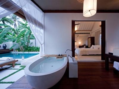 Oceanfront Sala Pool Villa de l'hôtel Sala Resort & Spa à Koh Samui