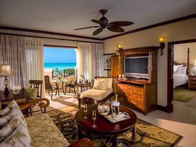 Honeymoon Seaside Suite du Sandals Grande Antigua Resort