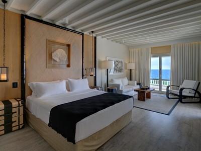 Suite Sea View de l'hôtel Santa Marina en Grèce