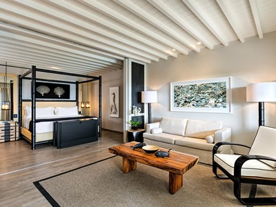 Deluxe Suite Sea View with Private Pool du Santa Marina